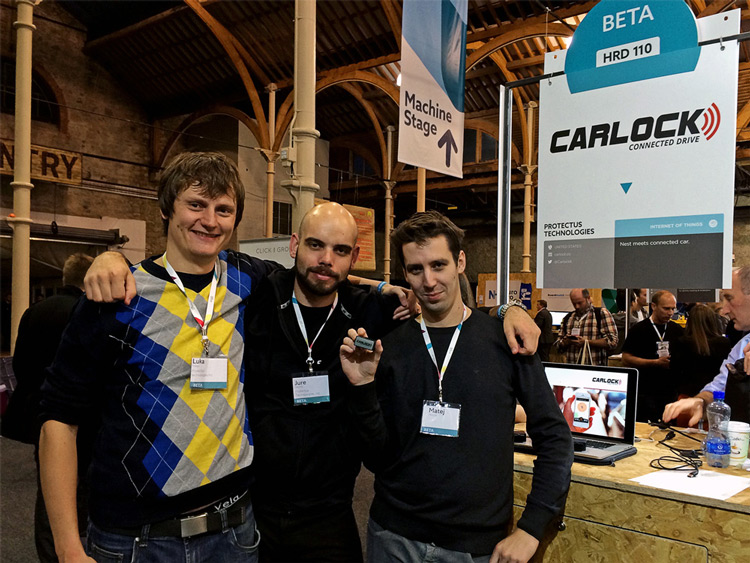 CarLock Team at Web Summit 2014
