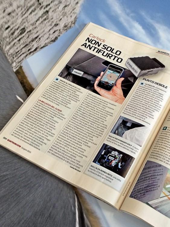 Quattroruote June 215 CarLock Review