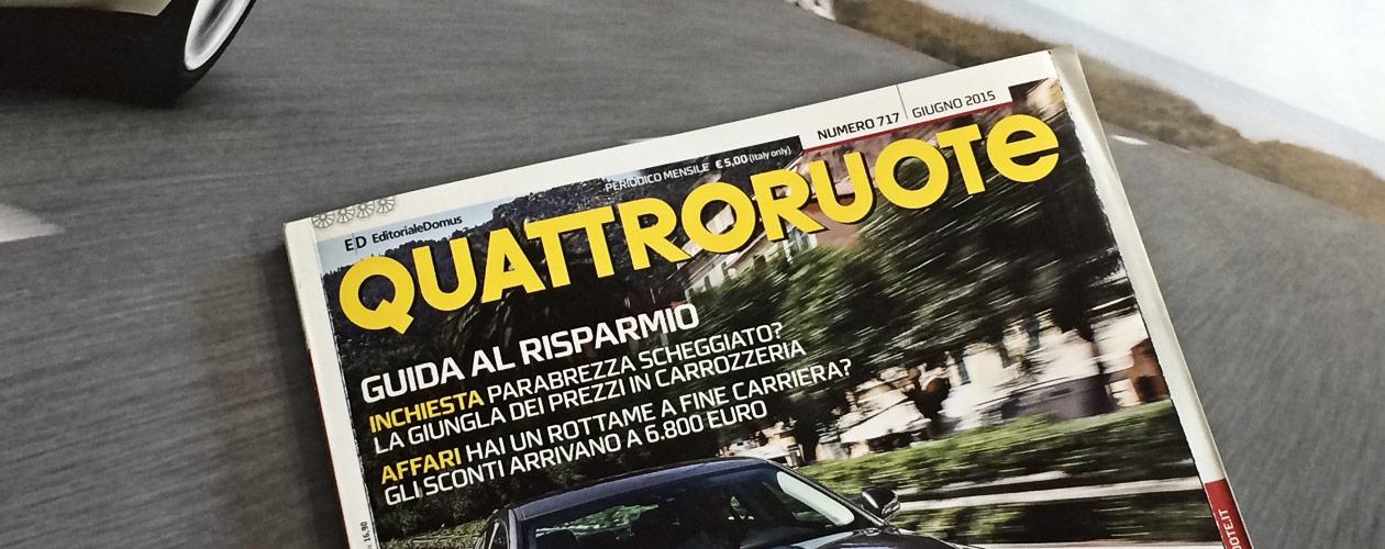 CarLock Review in Italian Quattroruote Magazine