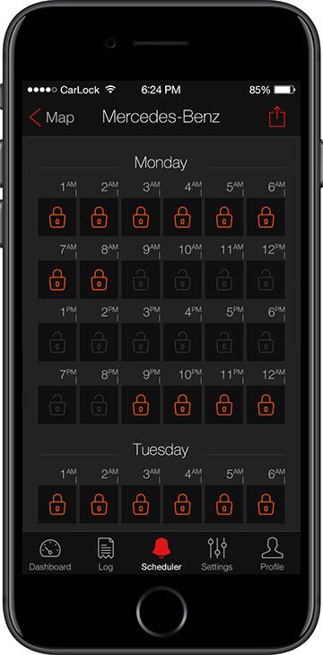 CarLock Security Scheduler