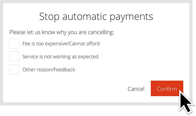 Cancel CarLock Subscription