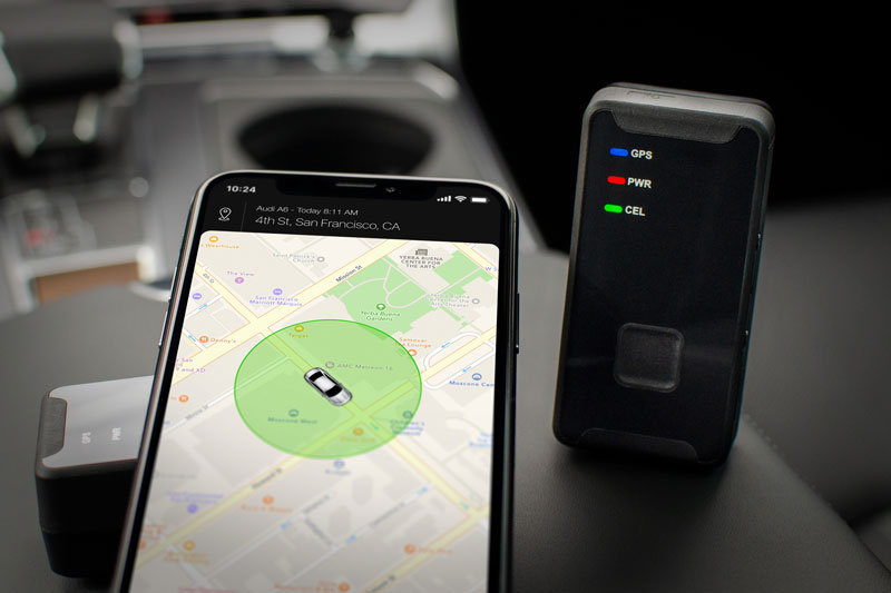 CarLock GPS car tracker - Battery-powered portable car and asset tracker
